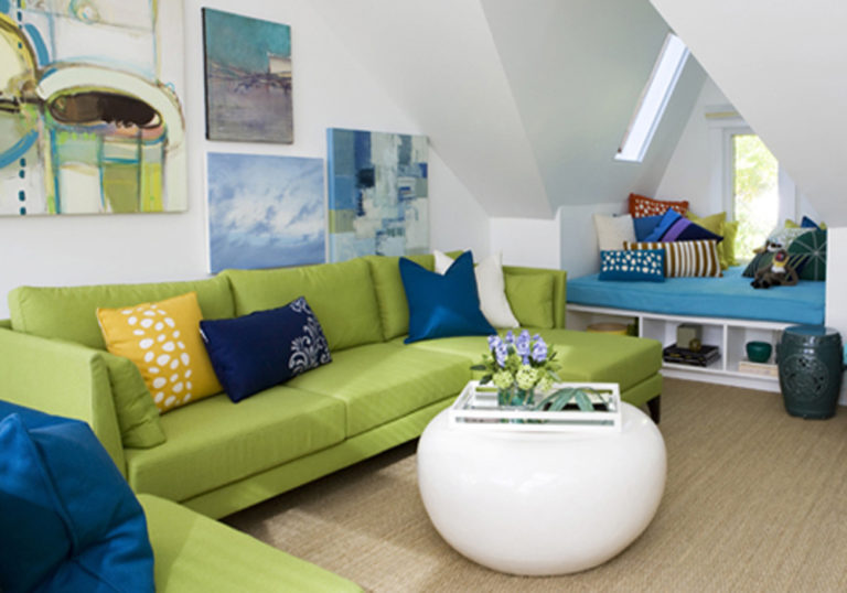Green Living Room