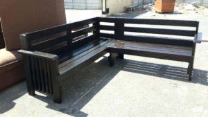 Metal Outside Furniture wooden garden furniture code