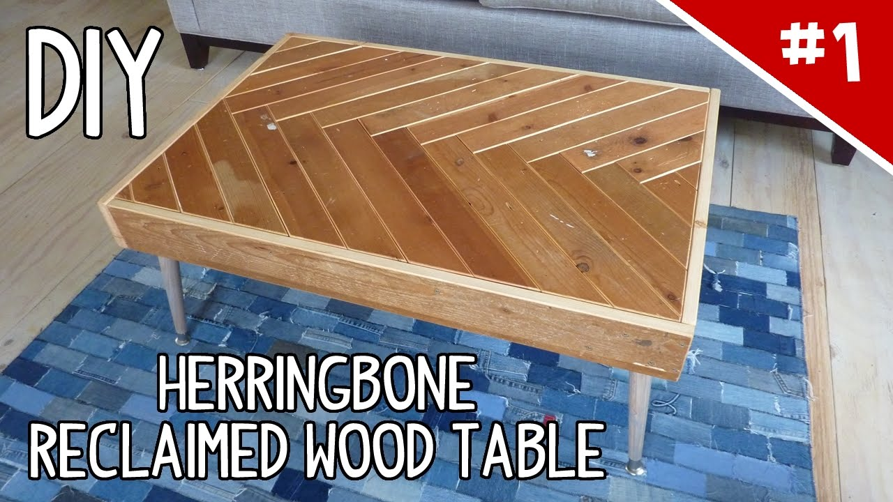 DIY Scrap Wood Projects For Reclaimed Wood And Salvaged Lumber solid wood tables